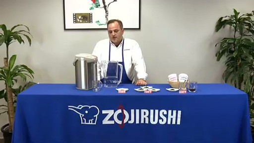 Zojirushi VE Hybrid Water Boiler & Warmer CV-DSC40 - image 3 from the video