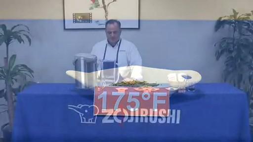 Zojirushi VE Hybrid Water Boiler & Warmer CV-DSC40 - image 7 from the video