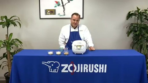 Zojirushi Neuro Fuzzy Rice Cooker & Warmer  NS-ZCC10 - image 4 from the video