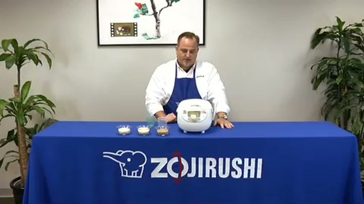Zojirushi Neuro Fuzzy Rice Cooker & Warmer  NS-ZCC10 - image 7 from the video