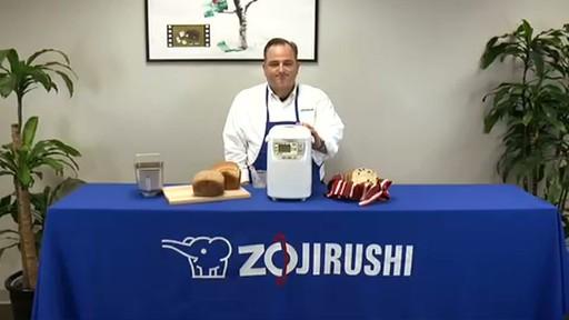 Zojirushi Home Bakery Mini Breadmaker BB-HAC10 - image 10 from the video