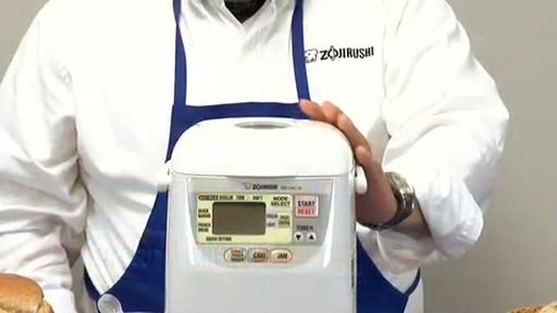 Zojirushi Home Bakery Mini Breadmaker BB-HAC10 - image 2 from the video