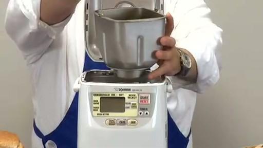 Zojirushi Home Bakery Mini Breadmaker BB-HAC10 - image 3 from the video