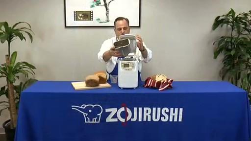 Zojirushi Home Bakery Mini Breadmaker BB-HAC10 - image 5 from the video