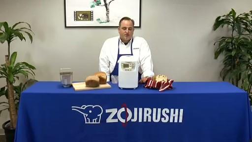 Zojirushi Home Bakery Mini Breadmaker BB-HAC10 - image 8 from the video