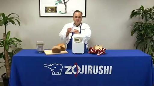 Zojirushi Home Bakery Mini Breadmaker BB-HAC10 - image 9 from the video