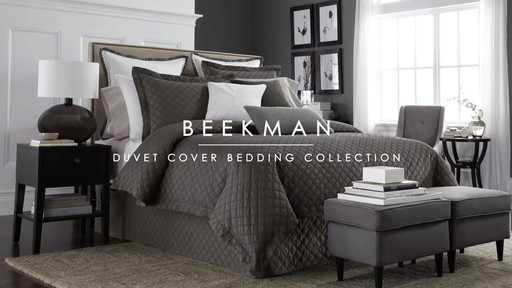 Wamsutta Beekman Bedding Collection  - image 1 from the video