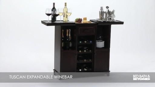 Expandable Wine Bar Bed Bath And Beyond