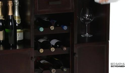 Tuscan Expandable Wine Bar 187 Bed Bath Amp Beyond Video