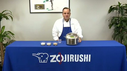 Zojirushi Induction Heating System Rice Cooker & Warmer  NP-HBC10 - image 10 from the video