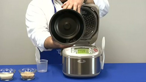 Zojirushi Induction Heating System Rice Cooker & Warmer  NP-HBC10 - image 5 from the video