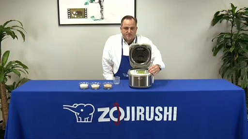 Zojirushi Induction Heating System Rice Cooker & Warmer  NP-HBC10 - image 6 from the video