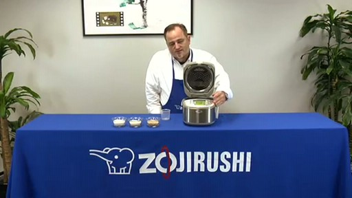 Zojirushi Induction Heating System Rice Cooker & Warmer  NP-HBC10 - image 7 from the video