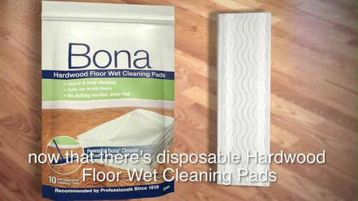 Bona Hardwood Floor how to clean gloss up and seal dull old hardwood floors Bona Hardwood Floor Wipes Image 1 From The Video