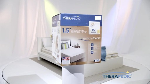 therapedic mattress toppers image 3 from the video