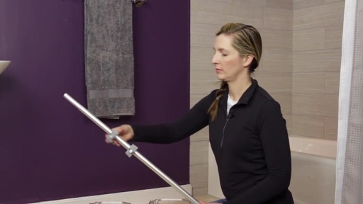 TITAN™ NeverRust® Corner Pole Shower Caddy - image 4 from the video