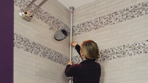 TITAN™ NeverRust® Corner Pole Shower Caddy - image 6 from the video
