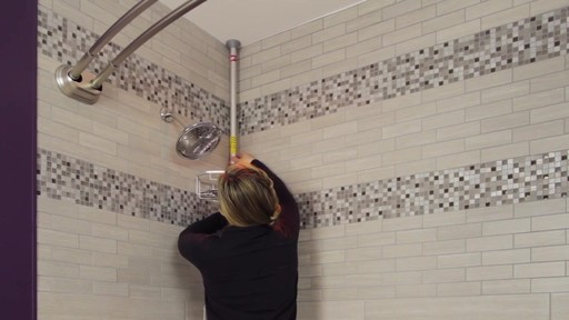 TITAN™ NeverRust® Corner Pole Shower Caddy - image 9 from the video