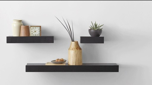 real simple decorative shelves image 10 from the video - Decorative Shelving