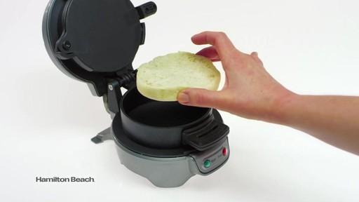 hamilton beach breakfast sandwich maker bed bath beyond video
