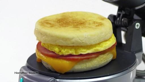 Hamilton Beach Breakfast Sandwich Maker 187 Bed Bath