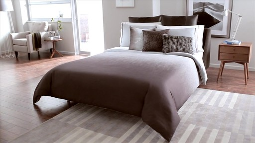 Kenneth Cole Reaction Home Hotel Neutral Comforter Set - image 1 from the video