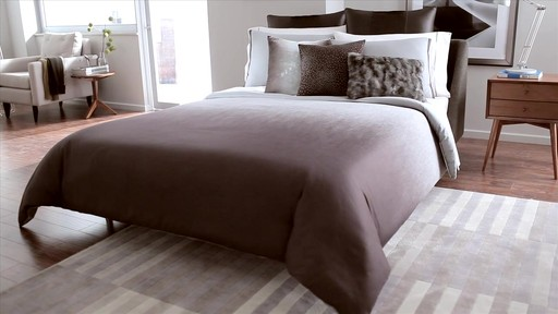 Kenneth Cole Reaction Home Hotel Neutral Comforter Set - image 2 from the video