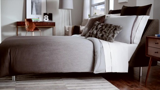 Kenneth Cole Reaction Home Hotel Neutral Comforter Set - image 4 from the video
