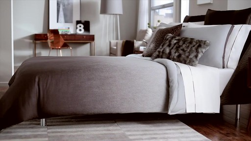 Kenneth Cole Reaction Home Hotel Neutral Comforter Set - image 5 from the video