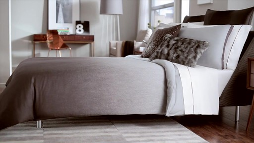 Kenneth Cole Reaction Home Hotel Neutral Comforter Set - image 6 from the video