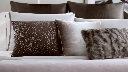 Kenneth Cole Reaction Home Hotel Neutral Comforter Set - image 7 from the video