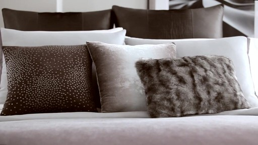 Kenneth Cole Reaction Home Hotel Neutral Comforter Set - image 9 from the video