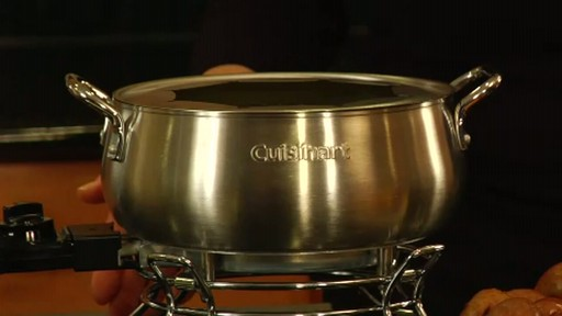 Cuisinart CFO 355 Electric Fondue Set - image 1 from the video