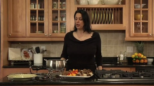 Cuisinart CFO 355 Electric Fondue Set - image 3 from the video