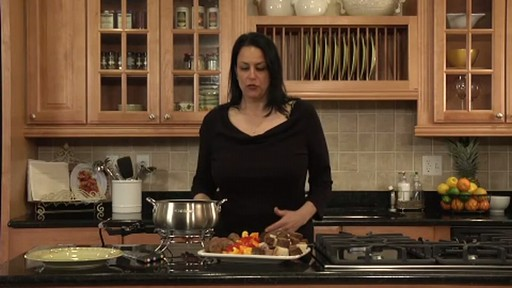 Cuisinart CFO 355 Electric Fondue Set - image 6 from the video