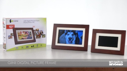 giinii 101 inch digital photo frame image 9 from the video
