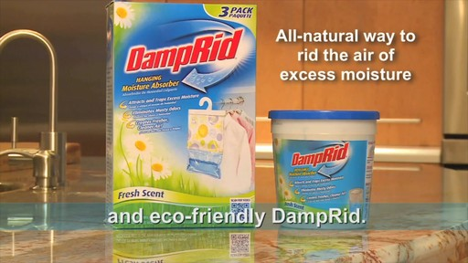 Damp Rid® Hanging Moisture Absorber (Set of 3) - image 10 from the video