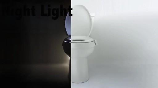 Illumibowl Motion Activated Toilet Night Light 187 Bed Bath