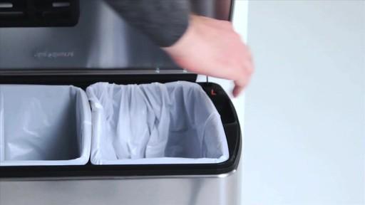 simplehuman rectangular recycler - image 2 from the video
