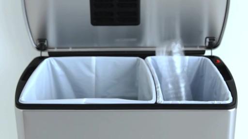 simplehuman rectangular recycler - image 7 from the video