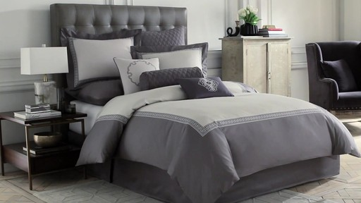 wamsutta:greek key duvet collection » bed bath & beyond video