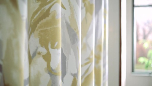Kenneth Cole Reaction Home Swirl Shower Curtain - image 6 from the video