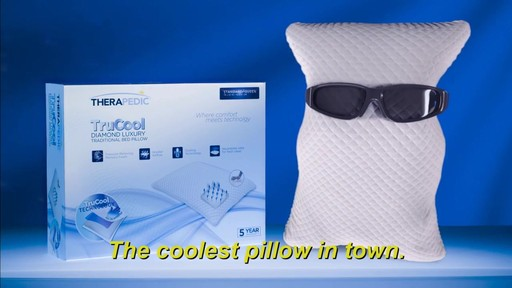 Therapedic 174 Trucool Bed Pillow 187 Bed Bath Amp Beyond Video