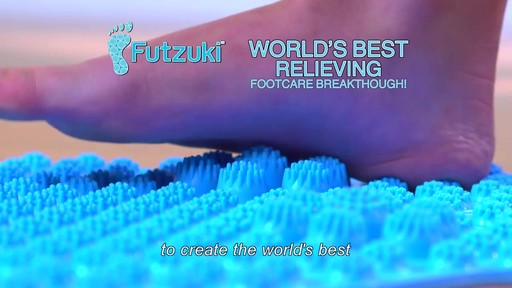 Futzuki Reflexology Foot Massage Mat  - image 4 from the video