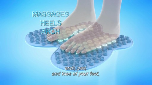 Futzuki Reflexology Foot Massage Mat  - image 7 from the video
