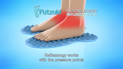 Futzuki Reflexology Foot Massage Mat  - image 8 from the video