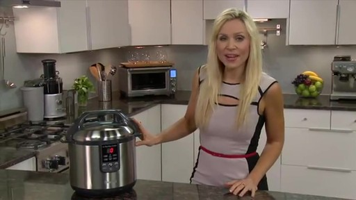 Breville® The Fast Slow Cooker BPR600XL - image 1 from the video