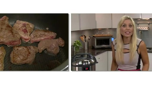 Breville® The Fast Slow Cooker BPR600XL - image 2 from the video