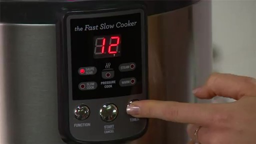 Breville® The Fast Slow Cooker BPR600XL - image 3 from the video