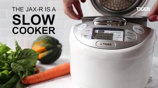 Tiger 5.5-Cup Multi-Functional Rice Cooker and Warmer - image 3 from the video